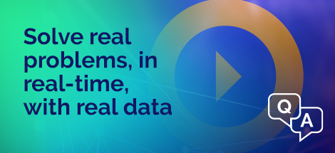 3 Solve ERP problems in real-time with real data